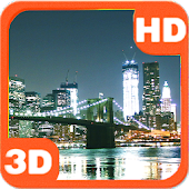Night City View On Skyline Bridge Android APK Download Free By PiedLove.com Personalizations