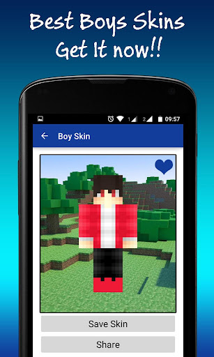 Best Boy Skins for Minecraft
