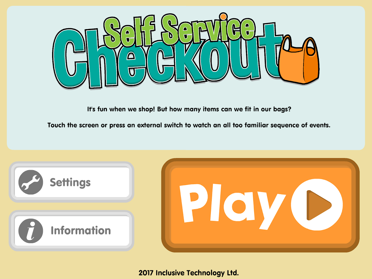 Self Service Checkout- screenshot