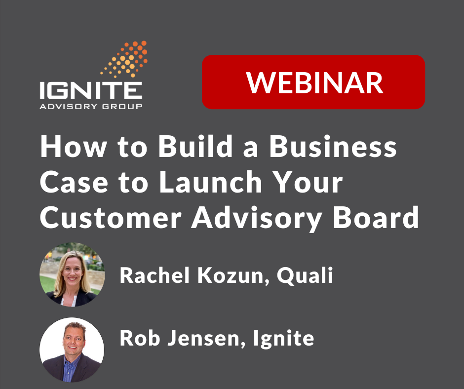 Watch the webinar on building a business case for CABs