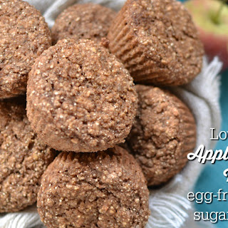 Low-Glycemic Apple Cinnamon Muffins