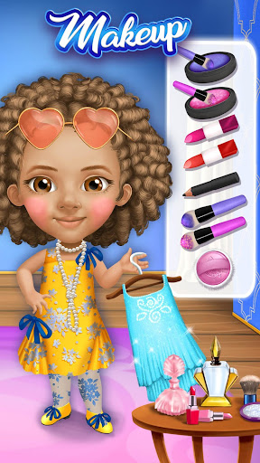 Pretty Little Princess - Dress Up, Hair & Makeup apkpoly screenshots 8