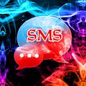 Color Smoke Theme GO SMS Pro icon