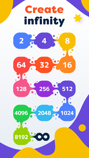 LAVA - Merge Number Blocks with 2048 game screenshot 2