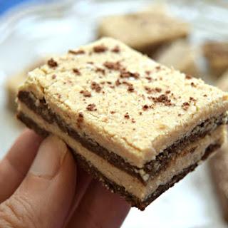 No Bake Tiramisu Protein Bars Recipe