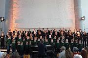 """Photo: A-Cappella Konzert mit dem Eupener Knabenchor bei der Chorbiennale (""""Lange Nacht der Chöre"""")  Aula Carolina, Aachen / 13.06.2009"""