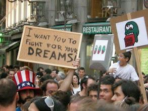 Photo: Puerta del Sol, Madrid, Movimiento 15-M, 21 de mayo de 2011, a5