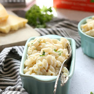Healthy Mac and Cheese.