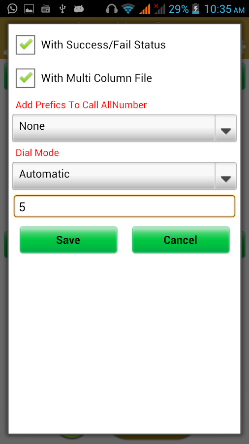 Bonrix Auto Dialer-Call Center- screenshot