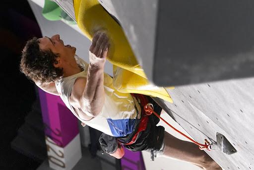 'Uuuh-aaah!' Sport climbing's Ondra screams his way to top