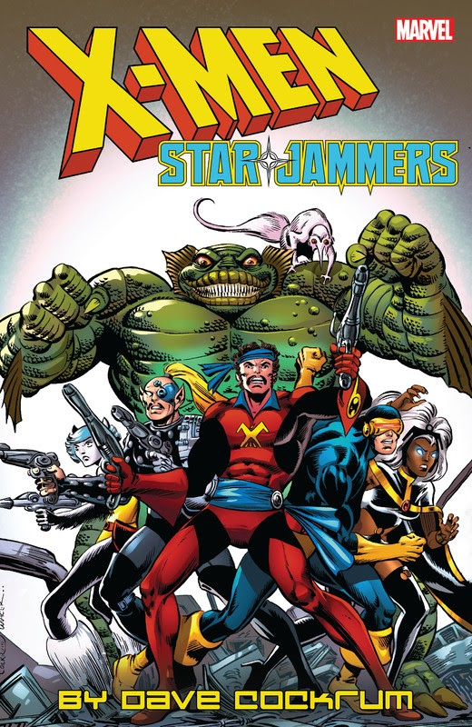 X-Men: Starjammers by Dave Cockrum (2019)