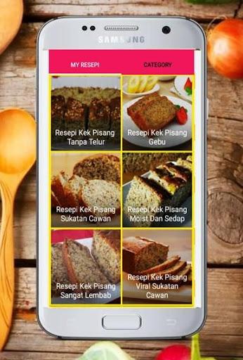Resepi Kek Pisang App Report On Mobile Action App Store