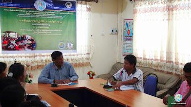 Photo: Dr. Prabhat Kumar, Regional Coordinator, SRI-LMB project