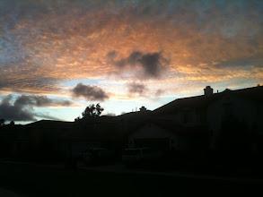 Photo: Sunset Silhouettes in Oak Creek