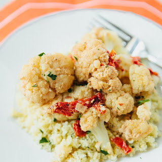 Creamy Braised Cauliflower with Sun-Dried Tomatoes