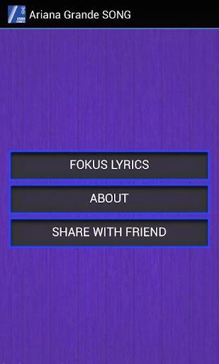 Ariana Grande - Focus Lyrics