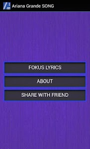 Ariana Grande - Focus Lyrics screenshot 0