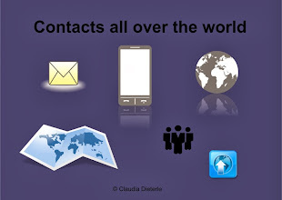 Photo: Contacts all over the world