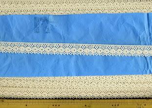Photo: №2460-1-108綿100%:トーションキナリ:巾18mm