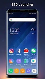SO S10 Launcher for Galaxy S,  S10/S9/S8 Theme v5.0 [Prime] APK 1