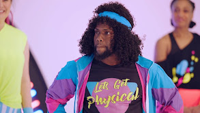 1980s Workout With Mindy Kaling and Kevin Hart thumbnail
