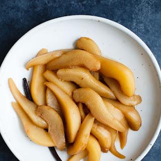 Spiced Pear Syrup Recipes