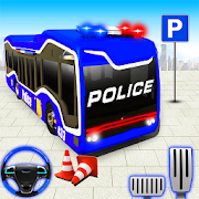 Police Bus Parking: Coach Bus Driving Simulator