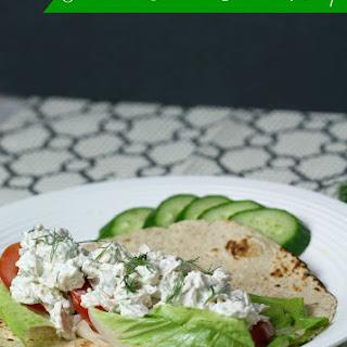 Tzatziki Chicken Salad Wrap