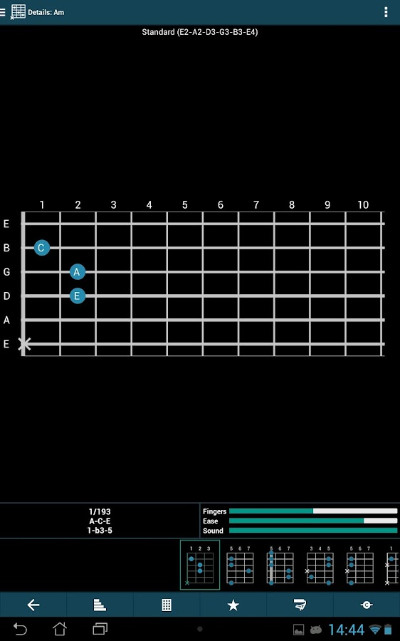 smart Chords & tools (guitar..- screenshot