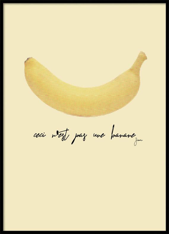 Ceci n'est pas une banane, Poster