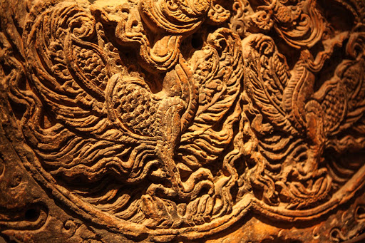 Ponant-Vietnam-wood-carving.jpg - A Vietnamese wood carving. Immerse yourself in the culture of Vietnam on a Ponant cruise.