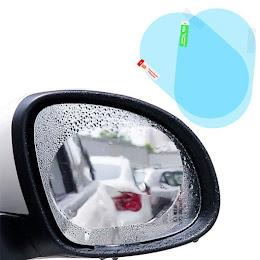 Set 4 x Folie antiaburire pentru oglinzi auto, 95 x 135 mm