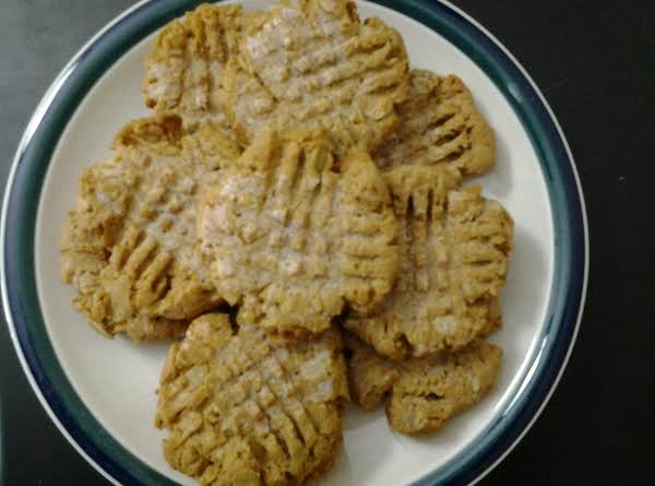 Peanutty Protein Cookies