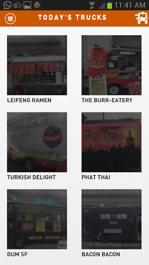 GfoodTrucks- screenshot