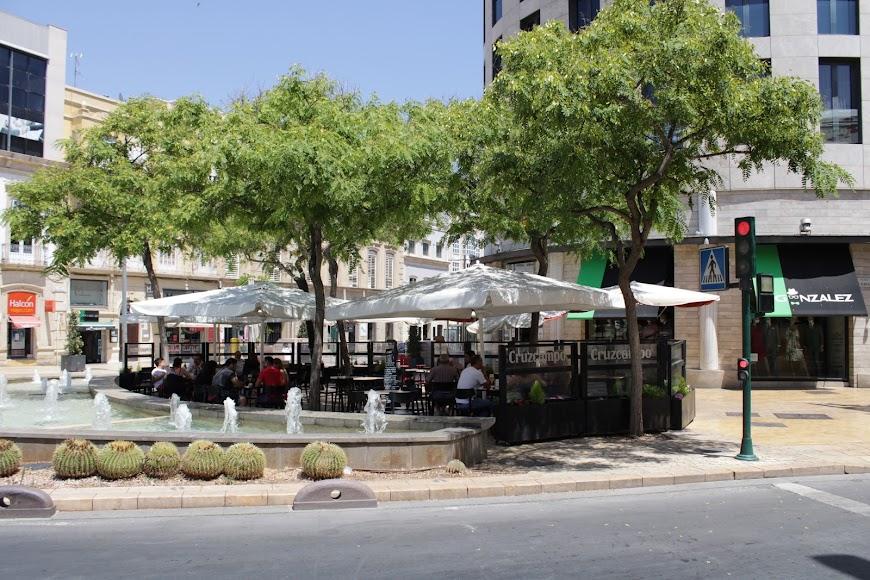 El centro de la ciudad el primer día sin estado de alarma.