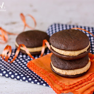 Whoopie Pies with Fluffy Peanut Butter Marshmallow Cream