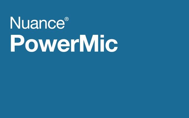 Nuance PowerMic Web Extension
