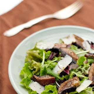 Mixed Green Salad Mushrooms Recipes