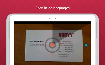 Business Card Reader Pro Screenshot 7