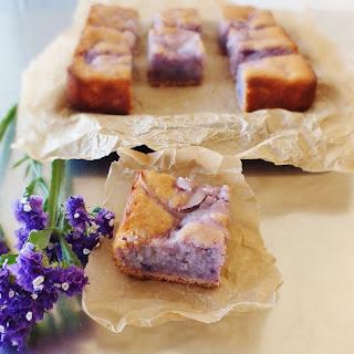 Okinawan Sweet Potato Cake with Macapuno Recipe