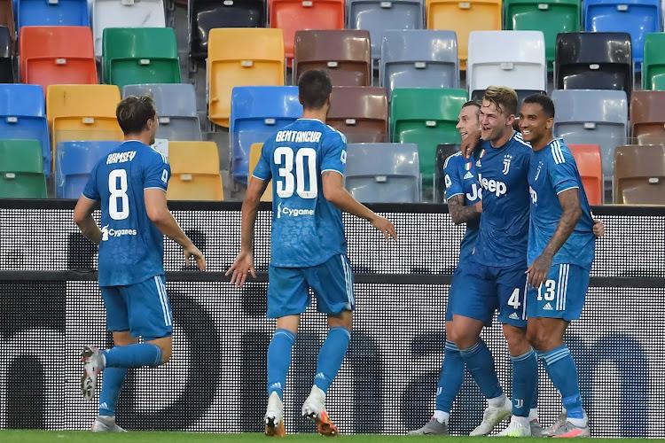 La Juventus devra se passer d'un cadre en Ligue des champions