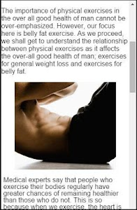Exercises To Lose Belly Fat screenshot 4