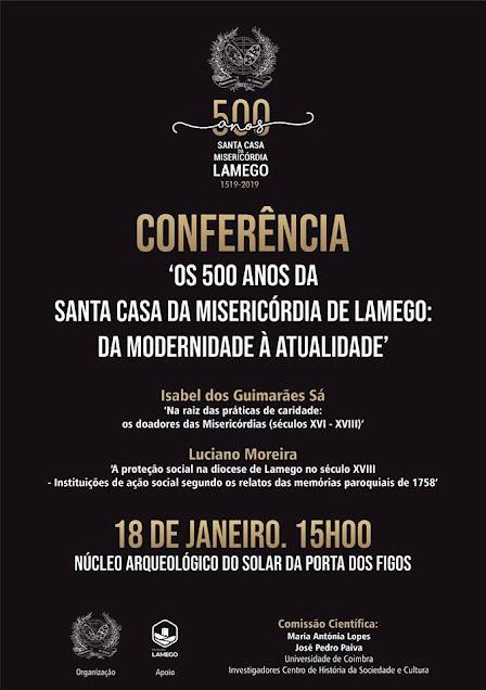Conferência em Lamego aprofunda conhecimento sobre misericórdias portuguesas