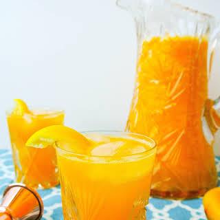Sparkling Mango Lemonade.