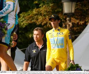 Johan Bruyneel Alberto Contador