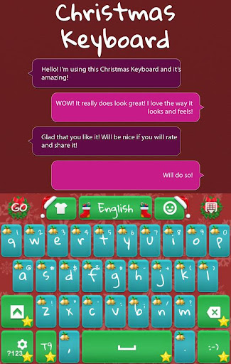 GO Keyboard Merry Christmas