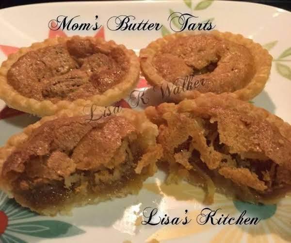 Mom's Butter Tarts Recipe