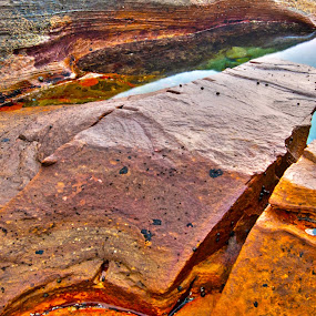 Reflections by Stephen Fouche - Nature Up Close Rock & Stone