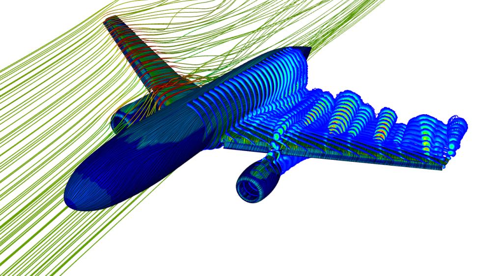 ANSYS Моделирование взлёта самолёта при помощи ANSYS Fluent