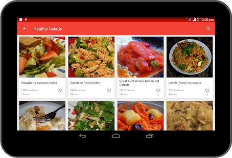 Healthy Recipes- screenshot thumbnail